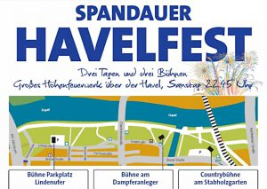 Spandauer Havelfest 2017 am Lindenufer